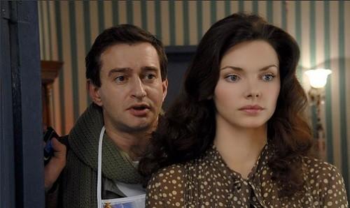 Konstantin Khabensky and Elizaveta Boyarskaya