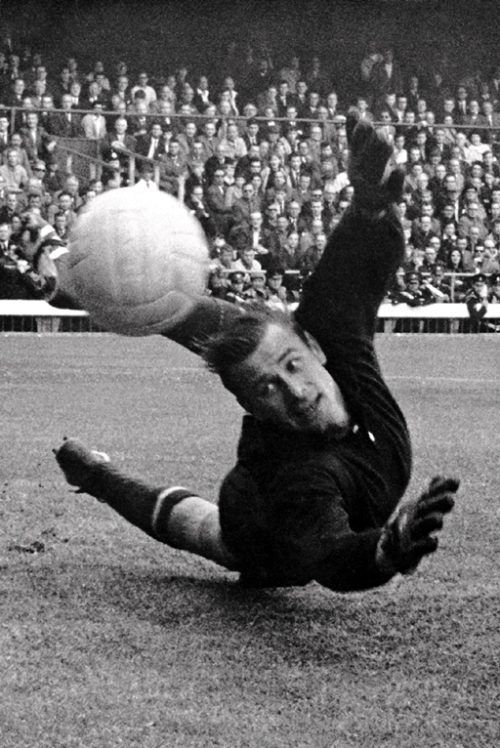 Football legend Lev Yashin