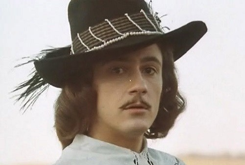 Russian actor Oleg Menshikov in 1984  film Captain Frakass