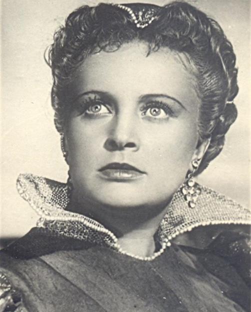 actress Alla Larionova