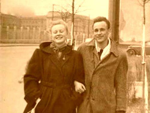 Alla Larionova and Nikolai Rybnikov