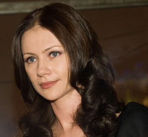 actress <b>Maria Mironova</b> - At-the-premiere-of-the-film-Swing-February-2008