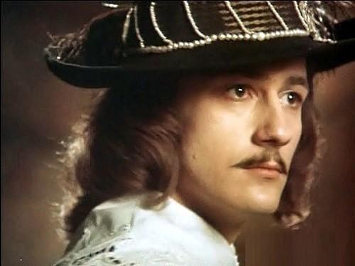Russian actor Oleg Menshikov in 1984 film Captain Frakass
