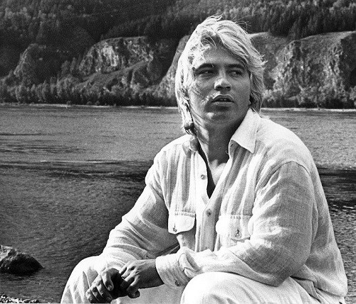 opera singer Dmitri Hvorostovsky in his hometown of Krasnoyarsk, 1997