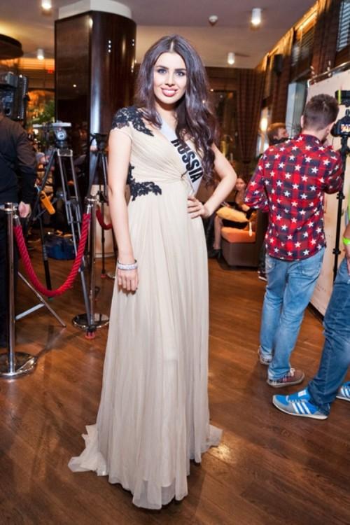 Elmira Abdrazakova. Miss Universe 2013 in Russia
