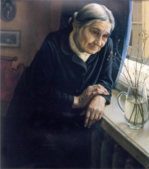 Flower rosmarine, 1980. painter Alexander Shilov