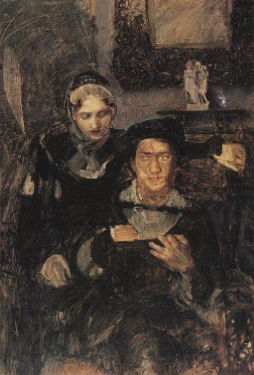 'Hamlet and Ophelia', 1884