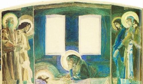Lamentation triptych 1887