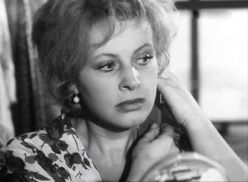 Soviet actress Alla Larionova