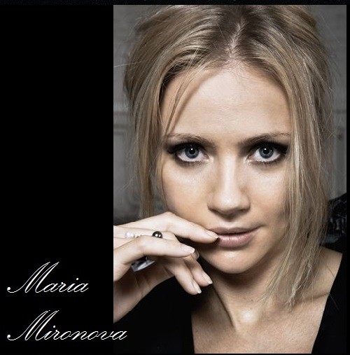 Stylish actress <b>Maria Mironova</b> - Maria-Mironova