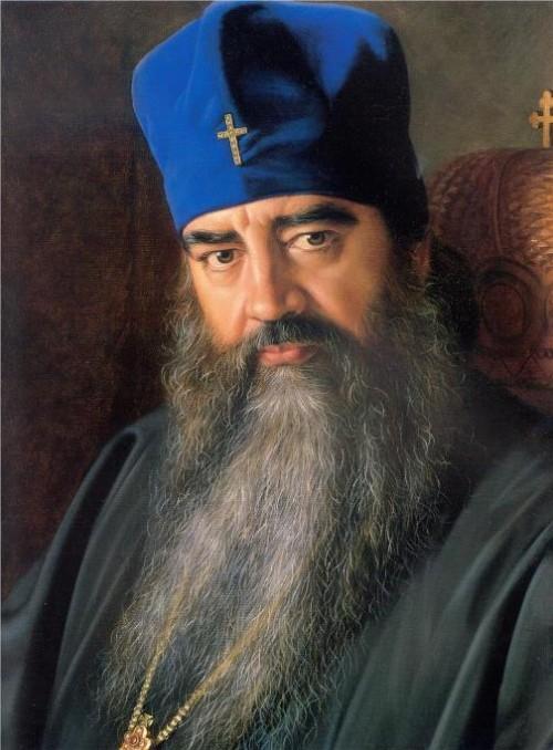 Metropolitan Filaret, 1987. painter Alexander Shilov