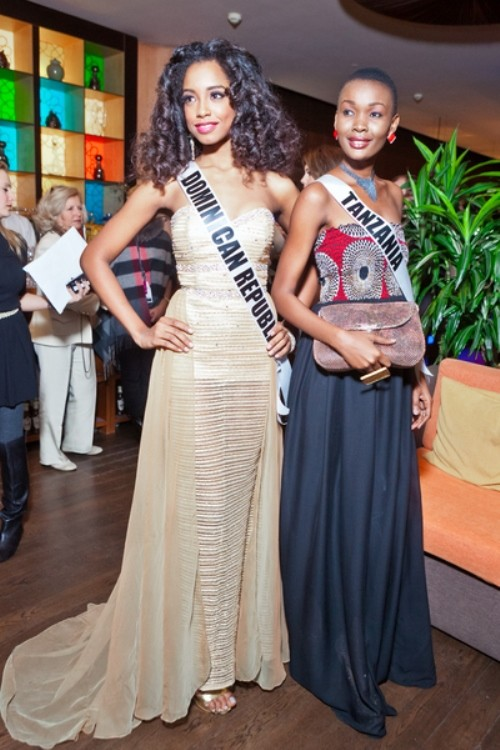 Miss Dominican republic, Miss Tanzania