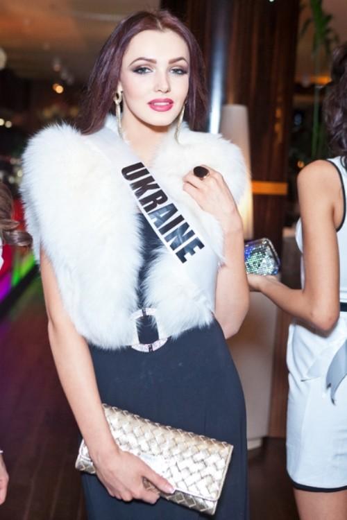 Miss Ukraine Olga Storozenko