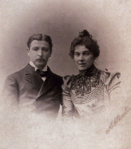 Nadezhda Zabela-Vrubel and Mikhail Vrubel