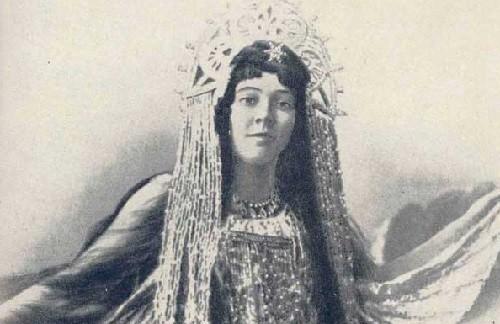 Nadezhda Zabela-Vrubel in opera 'Sadko'