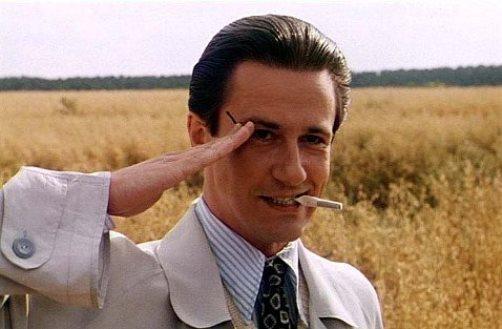 Oleg Menshikov in the film 'Burnt by the Sun', 1994