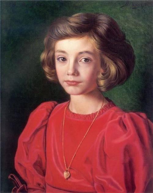 Portrait of Olenka Leznik, 1996