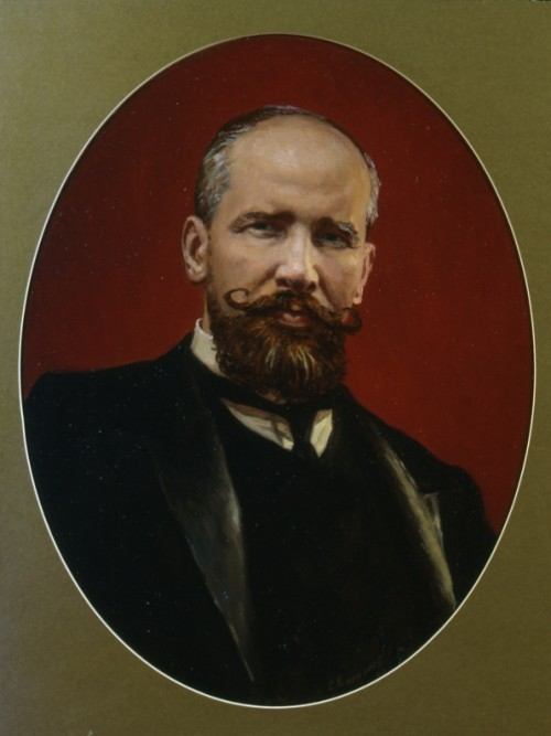 Portrait of PA Stolypin. 1998