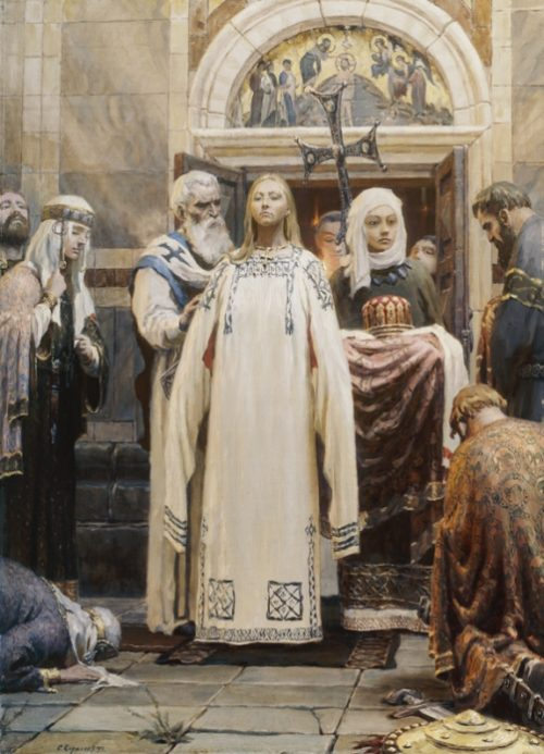 Princess Olga (Epiphany). The first part of the trilogy 'Holy Russia'. 1993