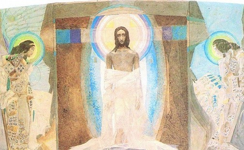Resurrection triptych 1887