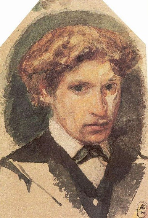 Self-Portrait. 1882 - Mikhail Vrubel