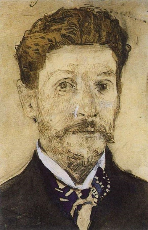 Self-Portrait. 1904-1905 - Mikhail Vrubel