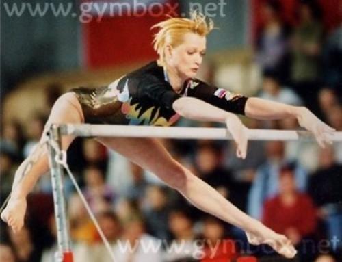 Russian gymnast Svetlana Khorkina