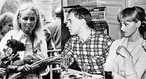 Tatiana Ivanenko and Vladimir Vysotsky