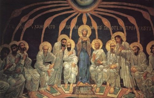 'The Descent of the Holy Spirit upon the Apostles', 1885