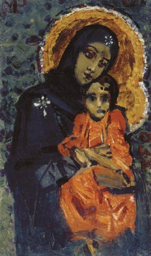The Virgin and Child 1884 1885