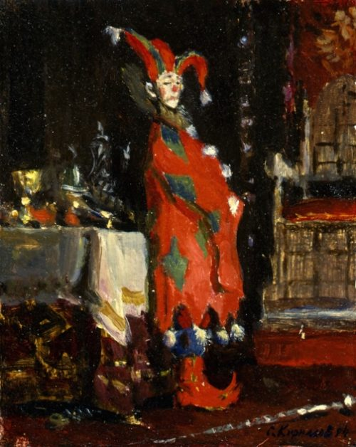 The figure of the jester. 1994
