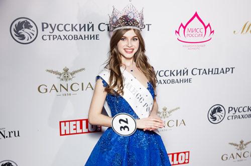 Russian winners of world beauty contests. Alina Sanko