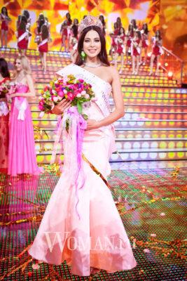 Russian winners of world beauty contests. Yulia Alipova