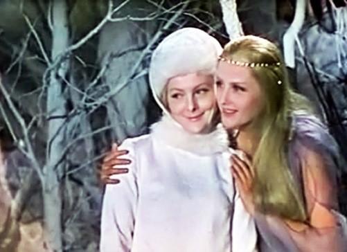 1968 Soviet film 'Snegurochka', based on the play by Alexander Ostrovsky. Directed by Pavel Kadochnikov. The role of 'Snegurochka' is played by Evgenia Filonova