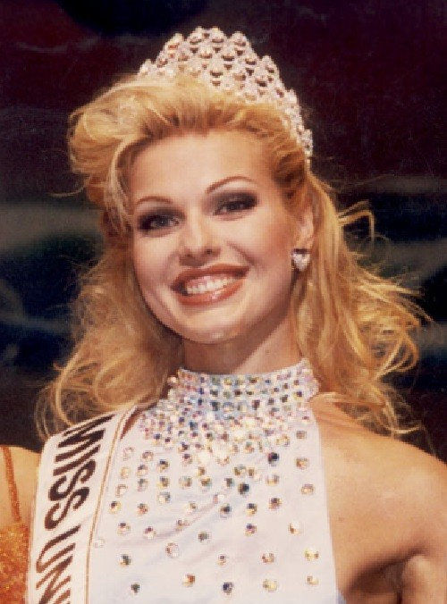 Russian winners of world beauty contests. Ruslana Babak
