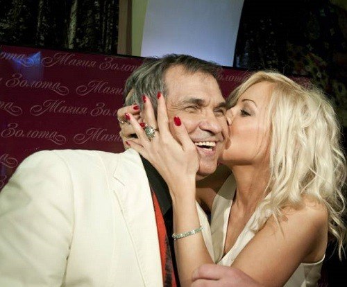 Russian celebrities unequal marriages