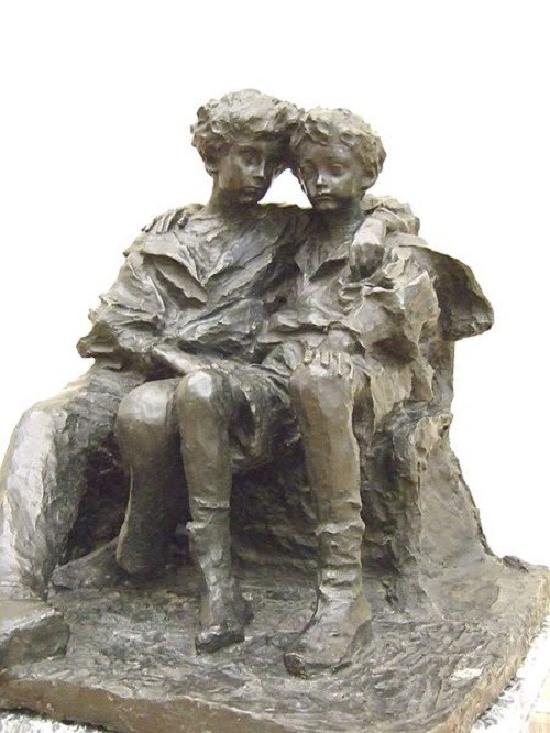Children (N.S and V.S Troubetzkoys), 1900