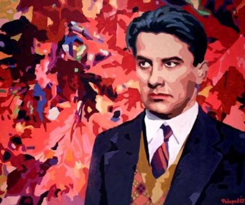 Daniil Fedorov. Portrait of Vladimir Mayakovsky