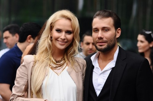 Russian artist Daniil Fedorov and Natalia Pereverzeva