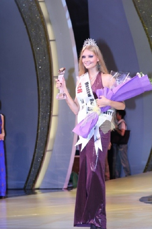 Global Beauty Queen (in China) - Yuliya Krylova