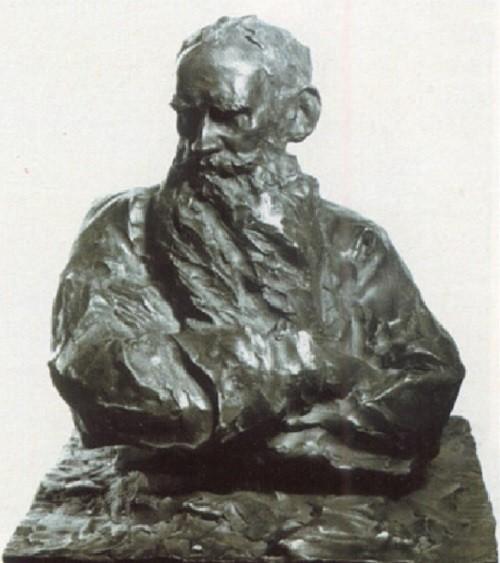 Leo Tolstoy, 1989, bronze