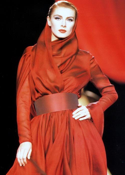 Ludmila Isaeva Malahova, Lanvin Fall Winter 1990 Haute Couture