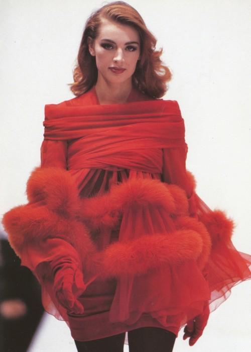 Russian super model Ludmila Isaeva