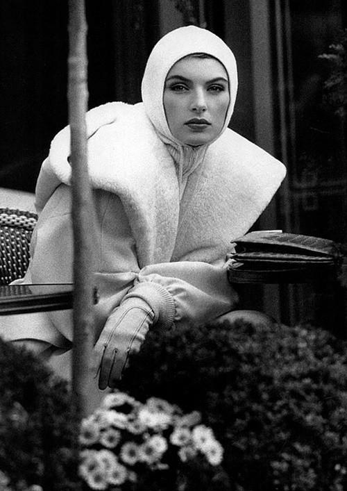 Ludmila Isaeva Malahova by Jean-François Jonvelle for Elle France November 1990