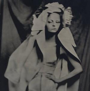 Stylish model Maria Kalinina