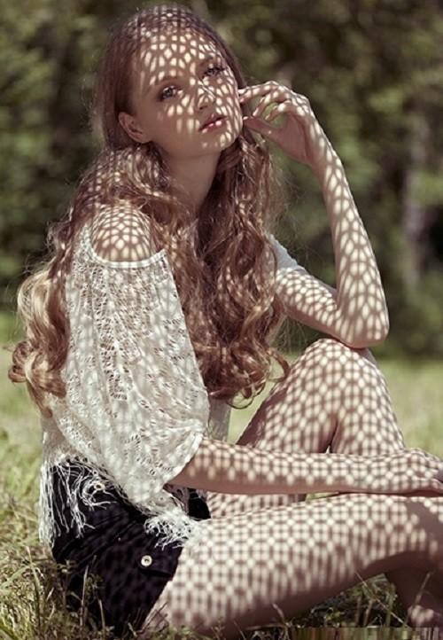 In the shadows. Maria Kalinina