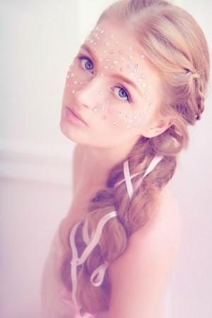 Amazing hair style. Maria Kalinina