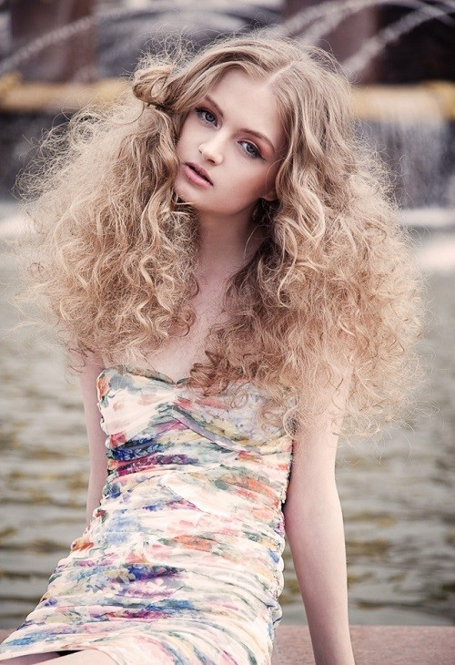 young and promising model Maria Kalinina