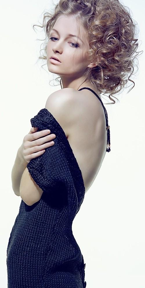 Moscow based model Maria Kalinina