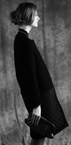 Fashion model Maria Kalinina
